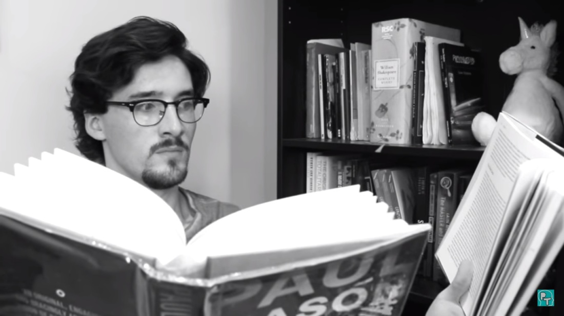 Olly Thorn, Hardcore Reader